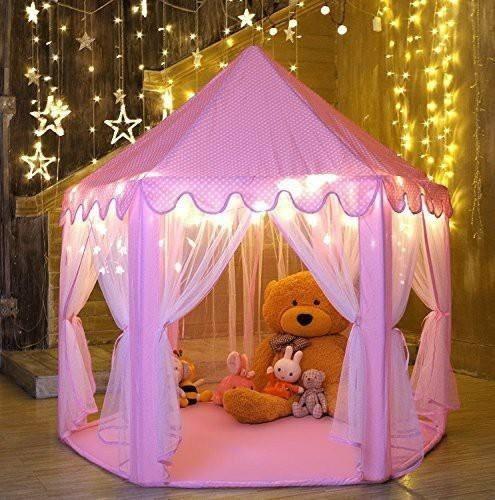 castillo  princesa gigante carpa niñas casita armable