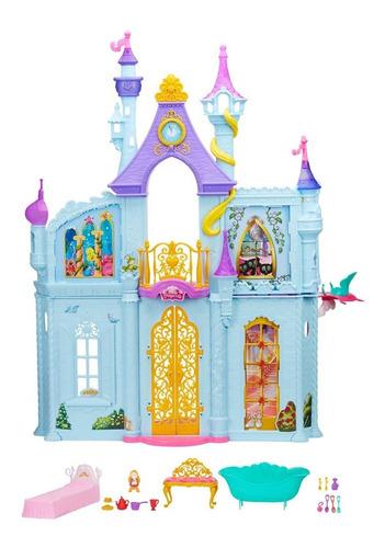 castillo real de ensueño princesas disney 90cms de alto