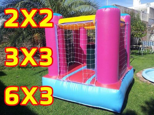 castillos inflables chicos - puff pool metegol -plaza blanda