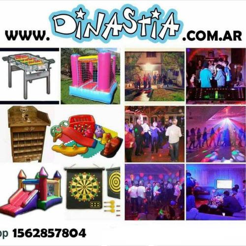 castillos inflables chicos - tejo -  metegol -plaza blanda