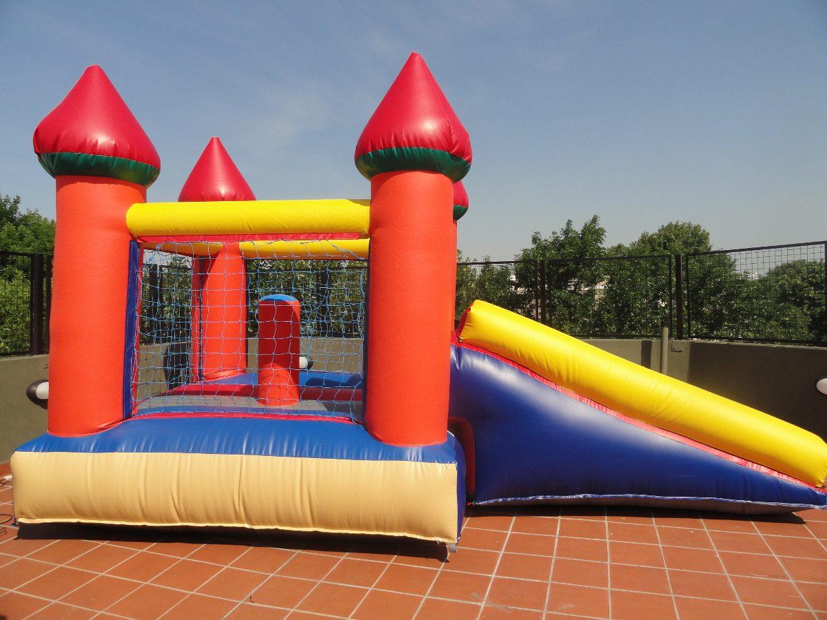 Castillos Inflables Juegos De Living Metegol Y Plaza