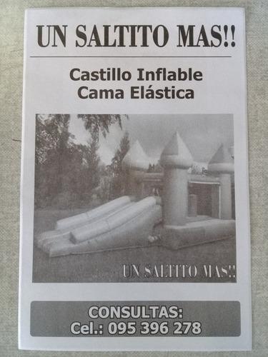 castillos y cama elastica