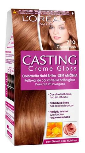 casting tintura creme gloss 710 cocadinha