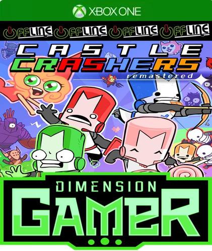 castle crashers remastered - xbox one - no codigo off-line