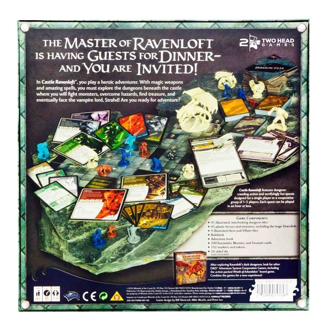 Castle Ravenloft Board Game Dungeons And Dragons Hasbro