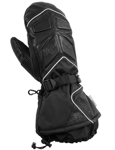 castle x racewear trs mitt mens motos de nieve guante negro