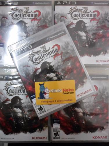 castlevania 2 - lords of shadow - nuevo fisico - envios -
