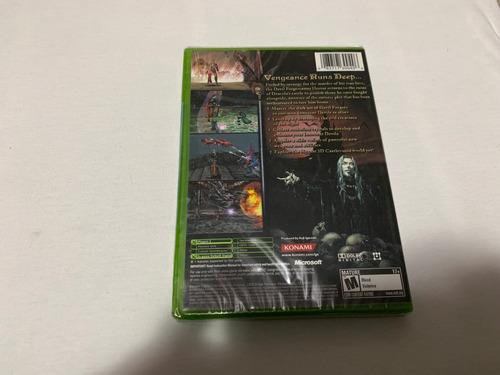 castlevania curse of darkness xbox lacrado