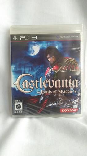 castlevania: lord of shadow - nuevo y sellado - ps3