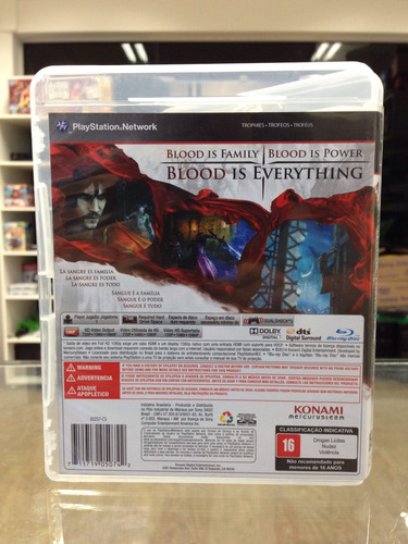 castlevania lords of shadow 2 ps3 completo !