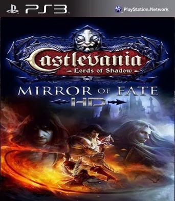 castlevania mirror of fate hd + infamous f.b. ps3 codigo psn