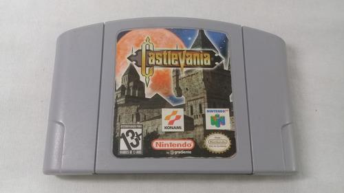 castlevania n64 100% original gradiente