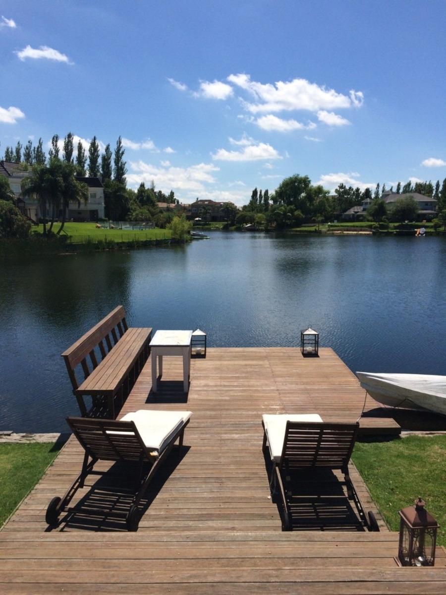 castores ii - nordelta -  gran mansion  c/ pileta y  laguna