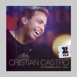castro cristian en primera fila dia 1 cd + dvd nuevo