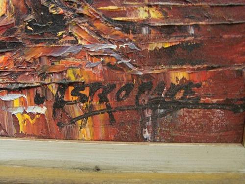 castrocane / el creador / oleo enmarcado / 60 x 80 # 1765