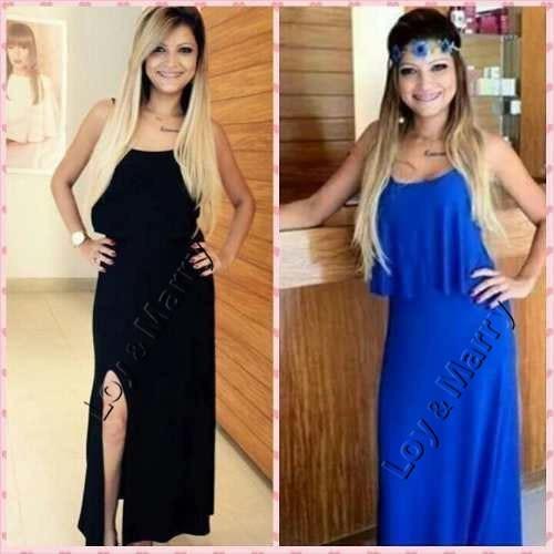 1d167ba798 vestidos longos casuais c  fenda roupas femininas s renda · vestidos longos  casuais roupas · casuais roupas vestidos longos
