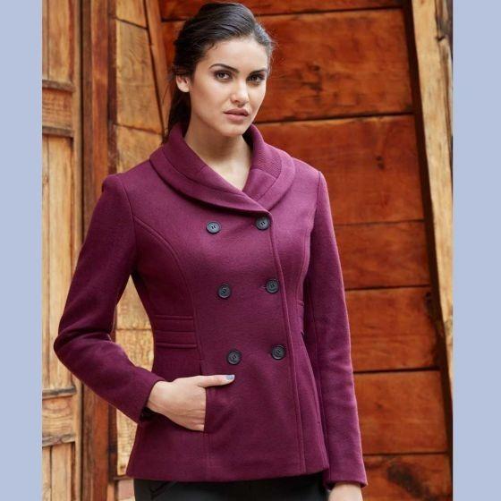 talla 40 d9966 43c32 Casual Abrigo De Moda Para Dama Otoño/inv Color Gris