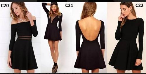 casuales cortos vestidos