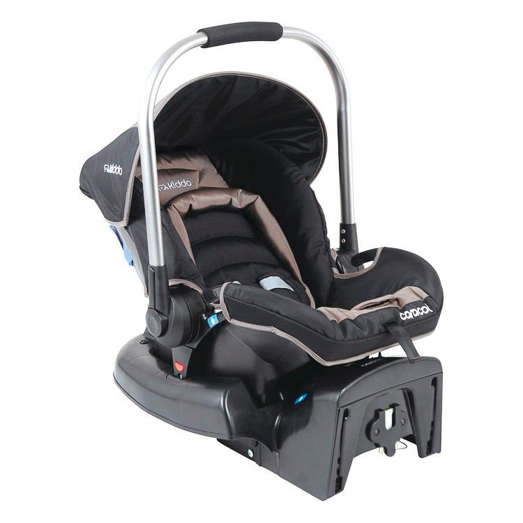 Casulo beb conforto caracol 411 com base para carro kiddo for Sillas para carro kiddo