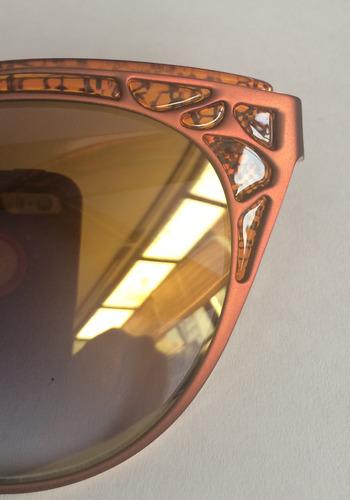 cat eye cateye beige de sol importados unicos! de moda