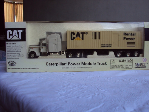 cat power module truck - réplica a escala