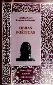 catalina clara obras poeticas(libro poesía)