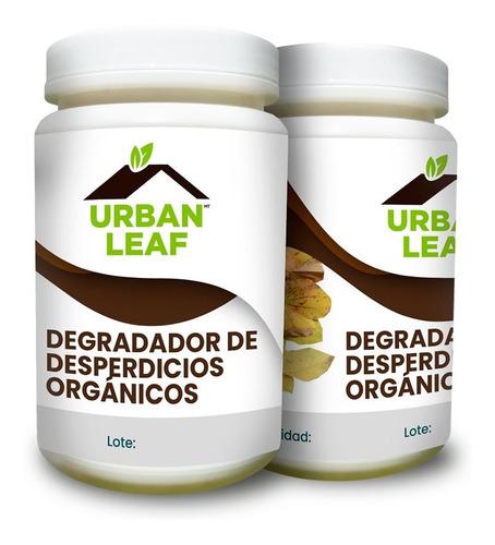catalizador biodegradable urban leaf composta casa 1 kilo