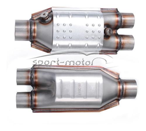 catalizador de alto flujo 2 de 2.5 hacia fuera para dodge