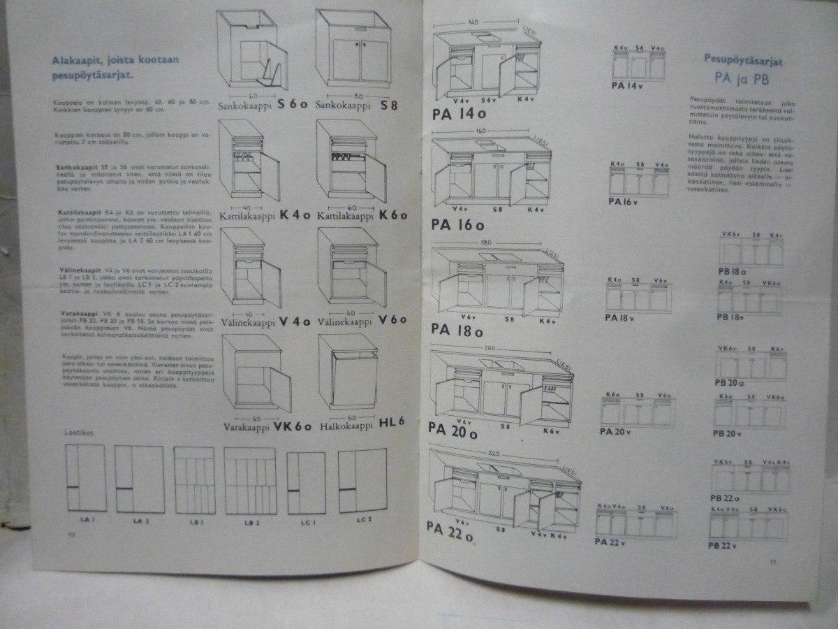 Catálogo Asko Muebles De Cocina Finlandés - $ 180,00 en Mercado Libre