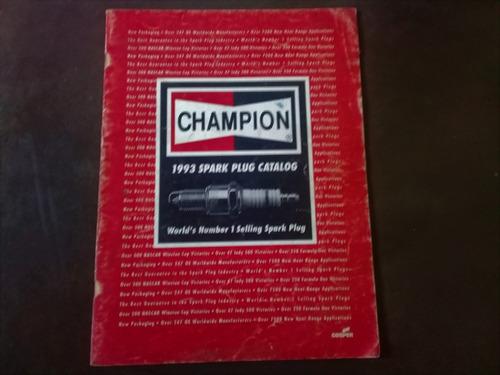 catalogo bujías champion edición 1993