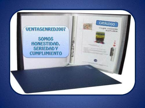 catalogo carpeta ideal presentacion documentos o productos