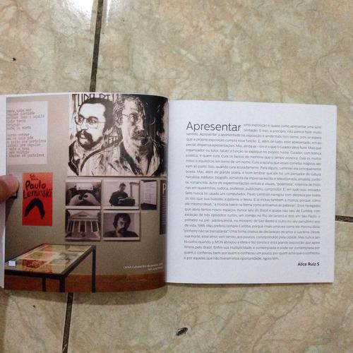catálogo da exposição múltiplo leminski 2016 paulo leminski