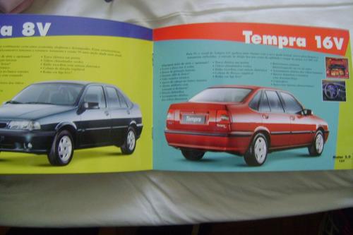 catalogo da linha fiat 1999 completo com 36 paginas