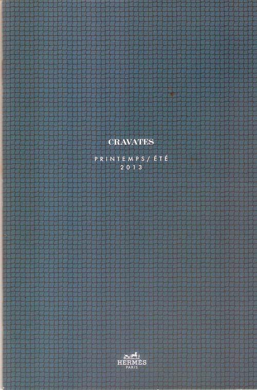 1d0f7a7063e8b Catálogo De Gravatas Da Grife França Hermès Paris 2013 Luxo - R  14 ...