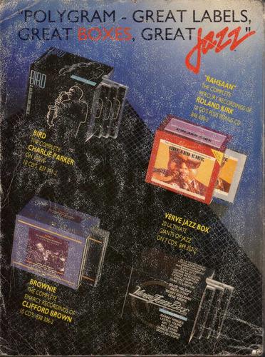 catalogo de jazz -  bielefelder katalog - año 1992