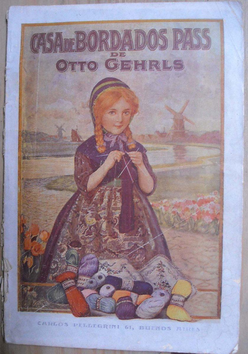 Catalogo de la casa de bordados pass argentina ca 1910 - Catalogo la casa ...