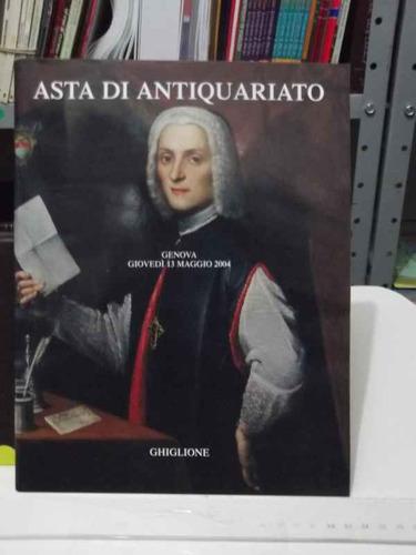 catalogo de leilão -  asta di antiquariato genova 2004