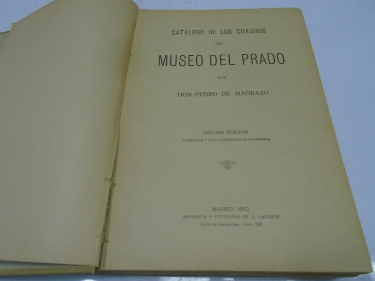 02e0093dd5 catalogo de los cuadros del museo del prado pedro de madrazo. Cargando zoom.