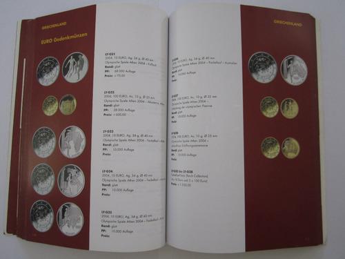 catálogo de moedas e cédulas de euro - leuchtturm