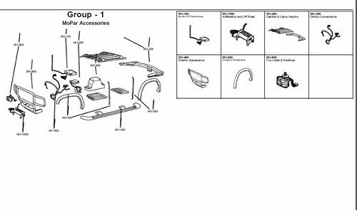 catalogo de partes chrysler aspen 2006-2009