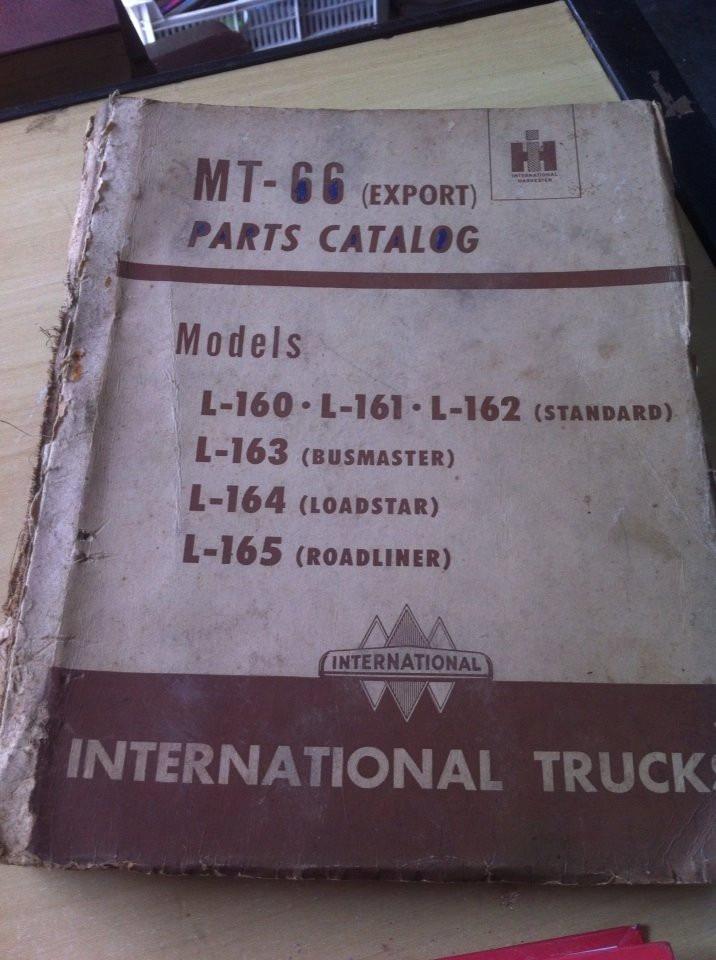 Catálogo De Peças Caminhões International 1950 Original
