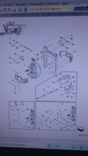 catálogo de peças case ih