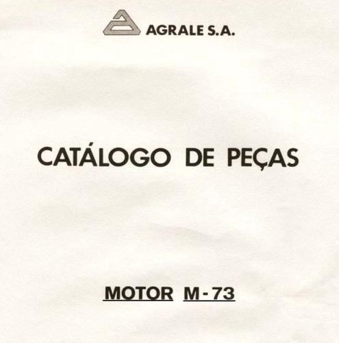 catálogo de peças motor agrale m-73