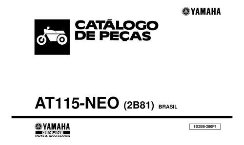 catálogo de peças yamaha at115 neo - pdf