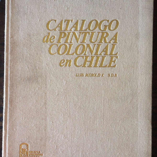 catalogo de pintura colonial