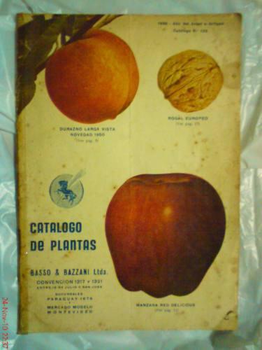 catalogo de plantas basso & bazzani n° 122 año 1950