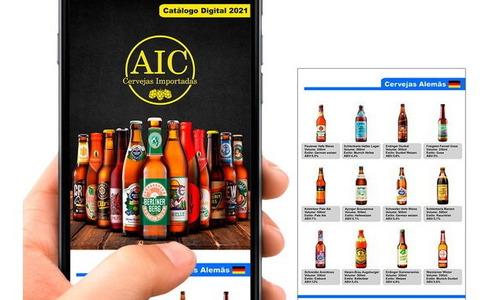 catálogo de produtos digitais