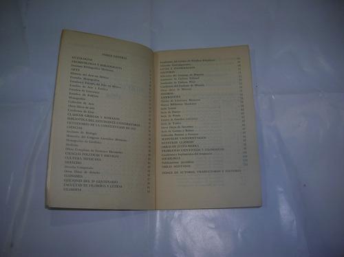 catalogo de publicaciones 1964 libreria universitaria mexico