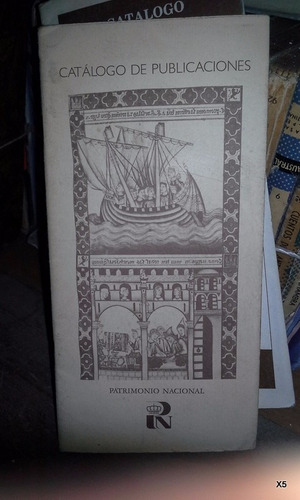 catálogo de publicaciones patrimonio nacional