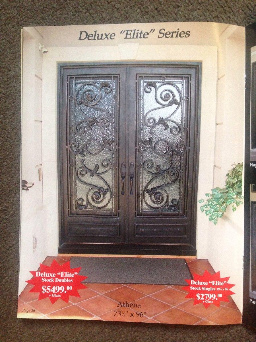 Puertas herreria para entrada principal puertas de for Modelos de puertas metalicas para entrada principal